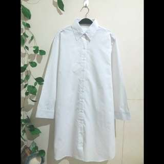 White dress shirt XL (baru)