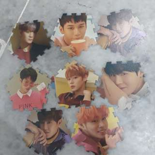 WANNA ONE OFFICIAL TAZO CARD