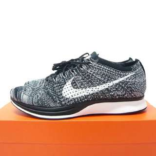 Nike Flyknit Racer Oreo2.0 us9 526628-012