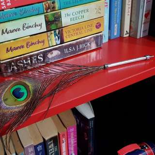 Peacock Feather Pens