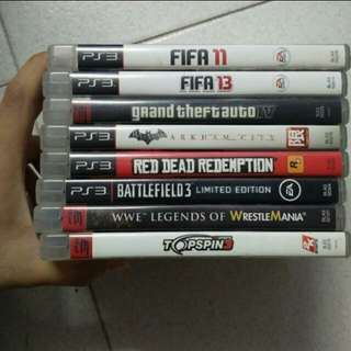 [Used] PS3 Games Massive Discount