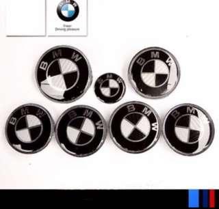 BMW Carbon Fibre Emblem