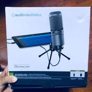 Audio Technica AT2020USBi Cardioid Condenser USB Microphone Mac