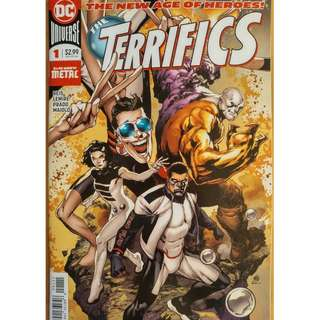 The TERRIFICS #1