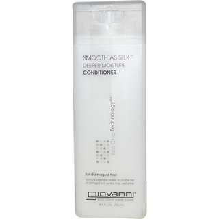 Giovanni, Smooth As Silk, Deeper Moisture Conditioner, 8.5 fl oz (250 ml)