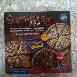 Dominos Pizza Vouchers
