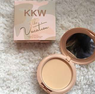 KYLIE powder the vacation