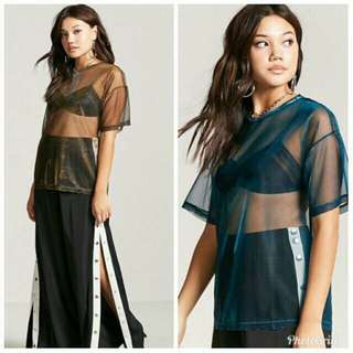 Forever 21 cover up Emerald Green