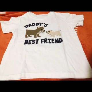 Toddler Daddy's BestFriend Shirt