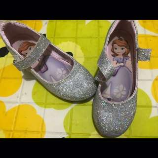 Disney Sophia the 1st glittered shoes