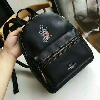 Coach Disney Mickey mini backpack