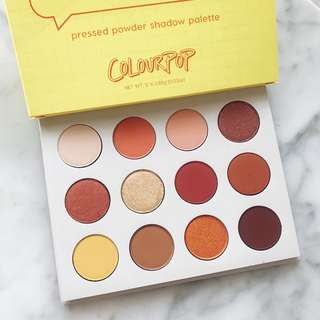 (New) ColourPop Yes Please Pressed Powder Shadow Palette