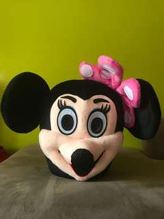 Minnie Mouse Fullset Mascot Cosplay Costume