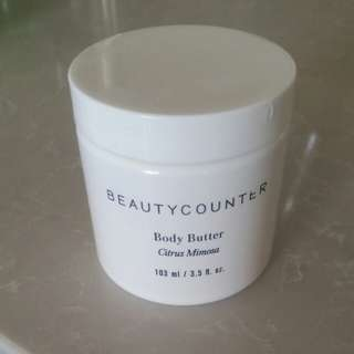 Beautycounter 103ML Body Butter Citrus Mimosa