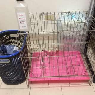 中小型白鐵狗籠/寵物籠,,