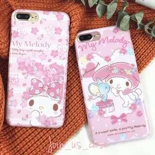 MyMelody可愛粉色手機殻(6/6+/7/7+/8/8+)iPhone