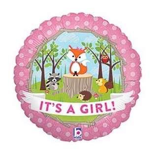 It's a boy/girl round foil.