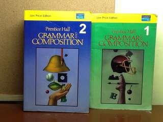 Grammar and Composition - Prentice Hall Book 1 & 2