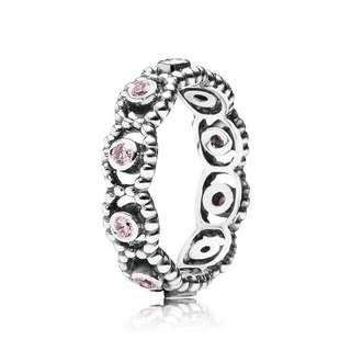 Pandora Pink Romance Ring