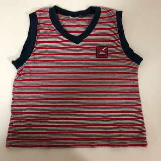 Sailor Kid Singlet (6 months-1 year old)