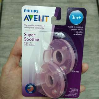 The Philips AVENT Super Soothie 安撫奶嘴
