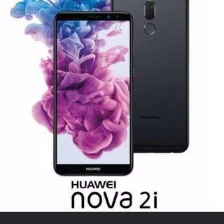 Huawei nova 2i (4gb ram/64gb ROM) original Malaysia set (black/gold/blue) #paywithboost