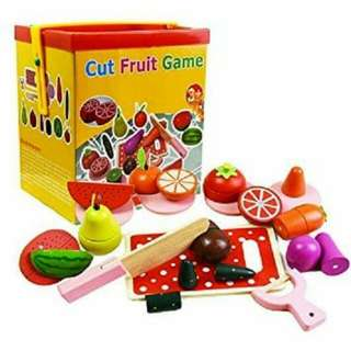 Cut fruit game