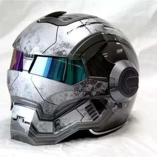 Gray MASEI IRONMAN Helmet