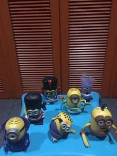 Minions Happy Meal Series (2015)