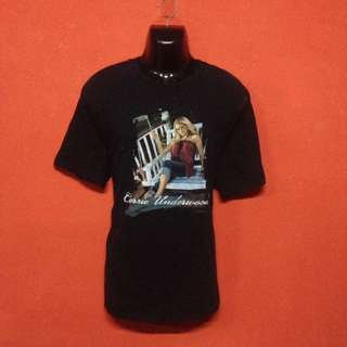 Baju CARRIE UNDERWOOD tour t shirt