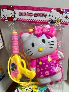 Hello kitty water gun