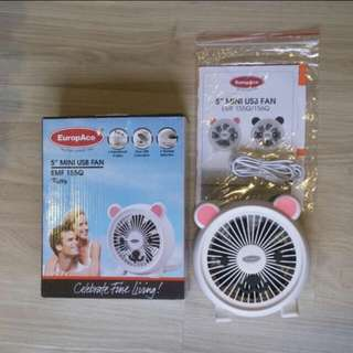 Europace cute mini USB fan