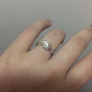 謝瑞麟 1.11份 鑽石戒指
