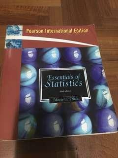 Essentials of Statistics (third edition)