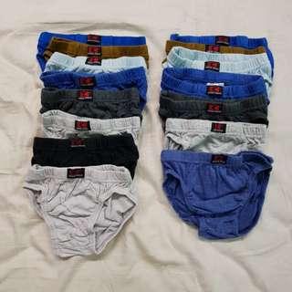15pcs Criss Cross Underwear (Size 1)