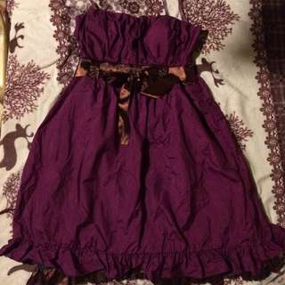 Purple Formal Dress for ball and prom