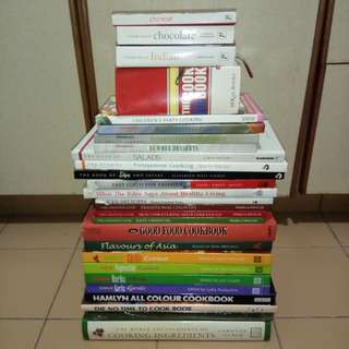 All hardcover recipes books (in English language) all for $30