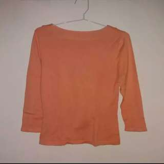 Noir Sur Blanc Orange Tee