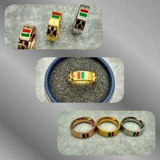 cincin gucci stainless replika