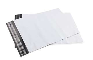 Large White Polymailers