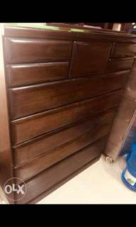 Real Wood Multipurpose Clothes Drawer Cabinet