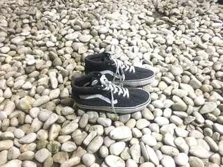 Vans sk8hi denim grey