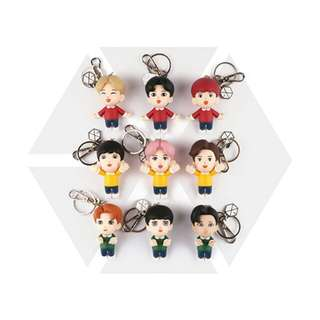 [PREORDER] EXO (엑소) - Figure keyring / 피규어 키링 (FIRST LIMITED MIRROR)