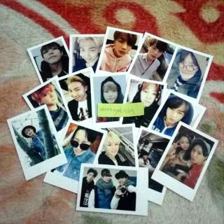 BTS Mini Polaroid