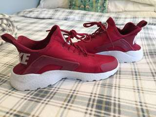 Nike Air Huarache Run Ultra - Women's Burgandy