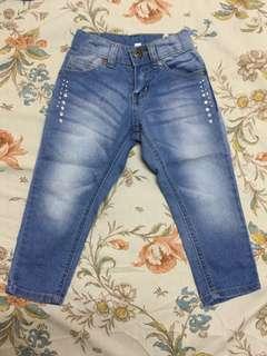 SM brand skinny jeans 2T