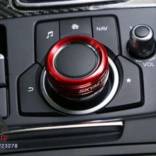 Mazda Media Button Design Cover