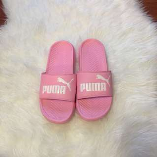 *PRICE CUT!!!* Pink Puma Slides