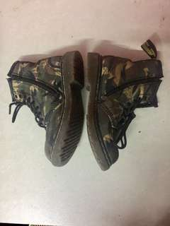 Original Doc Martens Camouflage for Kids