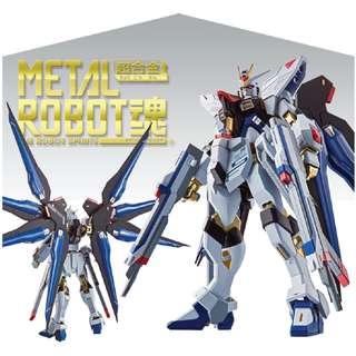 3月新貨!魂限定!全新未開封 行版/日版 Bandai Metal Robot魂 超合金 突擊自由高達 Strike Freedom 機動戰士 Seed Destiny